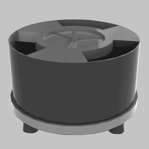 Unidades motrices electromagnéticas Vibradores circulares para cubas