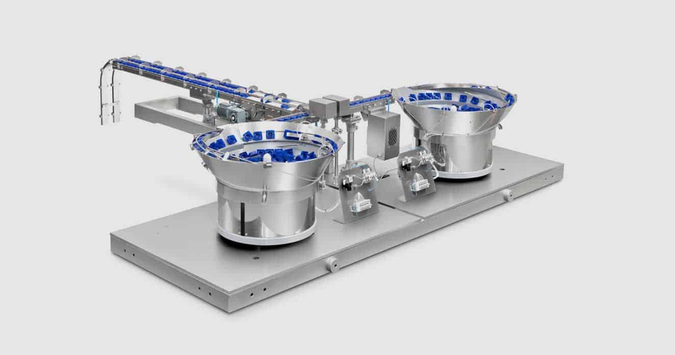 equipos de maquinaria de industria de alimentación para contaje y verificación de productos eficaces