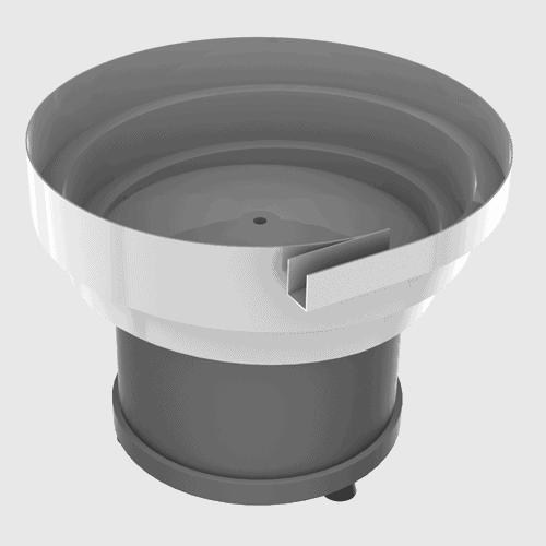 vibrador circular cuba escalonada