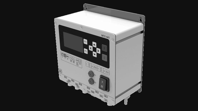control para unidades de vibración