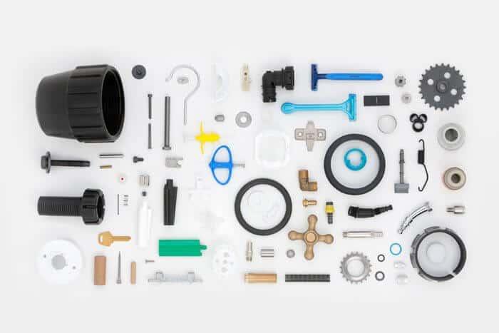 piezas para otros sectores de la industria